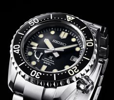 TimeZone : Industry News Dream Watches, Sport Watches, Watches For Men, Rolex Batman, Gmt Master 2, Seiko Diver, Seiko Watches, Bracelet Watch, Product Launch