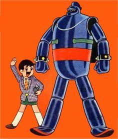 Your Brief History Of Giant Robots - Adi Tantimedh's Look! Time Cartoon, Sci Fi Tv Shows, Retro Robot, Art Manga, Super Robot, Old Anime, Japanese Cartoon, Robot Art, Classic Cartoons