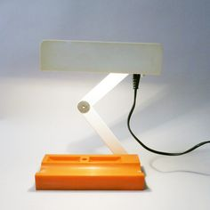 Folding desk lamp Giotto Stoppino Candle Fontana Arte 1970