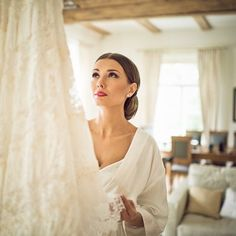 #LBBregram from @ratnieksjanis: How stunning is this #bridal portrait captured as the bride gets ready for her big day! by smpweddings