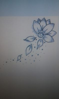 Rose With Falling Petals What I Want To Draw And Paint Tattoos