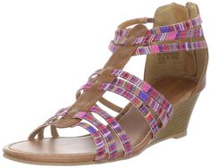 Madden Girl Women's Bizzyy T-Strap Sandal ^^ You can get more details here : Strappy sandals
