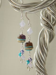 Island Life Cluster Earrings  -SOLD-