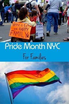 Families Celebrating LGBT History and  Pride in NYC