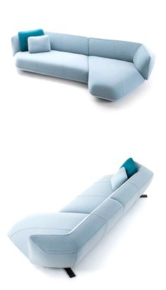 A new sofa system, Floe Insel, part of the Cassina collection by Patricia Urquiola #Sofa