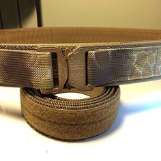 "Start the year off right with a new belt setup. 2"" Cobra Duty Belt in Kryptek Highlander. Get yours at www.jonestactical.com #jonestactical ..."