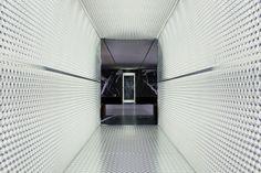 OMA AMO prada the infinite palace milan men's fashion week designboom