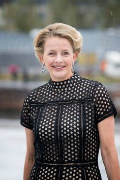 Princess Mabel of The Netherlands arrives at the Opera House on the ocassion of the celebration of King Harald and Queen Sonja of Norway 80th...