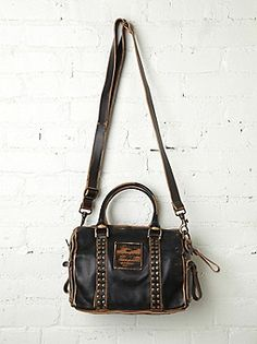 Campomaggi Benito Stud Satchel at Free People Clothing Boutique
