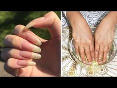 Make Nails Grow, Grow Long Nails, Grow Nails Faster, Nail Growth Tips, Diy Ongles, Brittle Nails, Chic Nails, Perfect Skin, Natural Nails