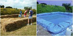 How to DIY Hay Swimming Pool DIY Tutorial