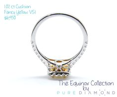 #diamond #round #gold #ring #Engagement #Vancouver #NorthVancouver #WestVancouver #Canada #Burnaby #NewWestminster #Coquitlam  #Surrey #Abbotsford #engagementring #vancouverisawesome #vancitybuzz #vancouverdiamond #diamondring #collection #TheEquinox #Equinox #TheEquinoxCollection #yellow #LoghtYellow #fancy #PureDiamond