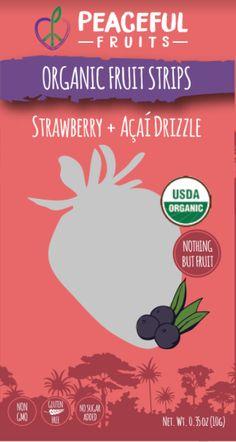 Ingredients: Organic Strawberry, Organic Orange Juice, Organic Acai, Organic Apple, Organic Dates