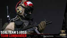 *PRE-ORDER* SEAL TEAM 5 VBSS Team Commander 1/6 Scale Collectible Figure By Damtoys