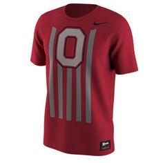 Nike Ohio State Buckeyes Red Throwback T-Shirt