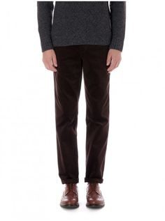 Fishtail Trouser Cord Chocolate OST20D