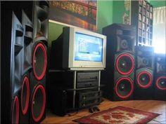 Big Speakers And Nice Tunes ( Pioneer , JBL , Cerwin Vega , and more