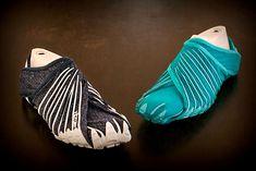 Vibram Furoshiki-scarpe che si avvolgono intorno ai piedi - Storia della moda femminile