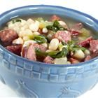 Sausage, Kale, and White Bean Soup  Love my Wolfgang Puck pressure cooker!!