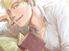 I want to stare into his eyes for hours...but Levi's I could stare at my whole life...