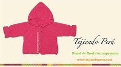 Abrigos para bebes tejidos en crochet - YouTube