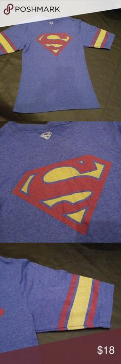 """💖5 for $25💖SUPER GIRL/MAN Tee Size small on tag- fits like an XS in women's or XL in girls  💖5 for $25💖 (marked as 4 for $25 or 5 for $25)  😉EARN EXCLUSIVE """"REWARDS DOLLARS"""" WITH EVERY PURCHASE. USE WITH ANY SALE. 👍   💍Also CHECK OUT my $5 for 15 SALE💕   Why SHOP MY Closet? 💋Most NWT or Worn Once 💋Smoke/ Pet Free 💋OVER 550 🌟🌟🌟🌟🌟RATINGS & RISING! 💋TOP 10% Seller  💋TOP RATED 💋 FAST SHIPPER  💋BUNDLES 20% OFF 💋EARN VIP $$$- SPEND ANYTIME  💋QUESTIONS?? PLEASE ASK! ❤HAPPY…"""