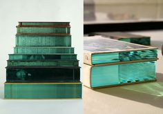 TO BE SHELVED: Ramon Todo's Sculptures of Glass + Books