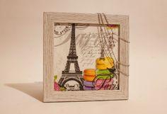 #декупаж#картина#париж#эйфелевабашня#decoupage#picture#paris#