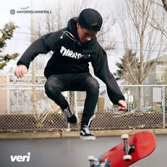Music isn't Hayden Summerall's only passion! Did you also know he can shred it at the skatepark?