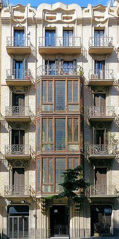 Barcelona a jejich balkóny :-)