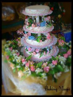 #weddingcake #flowers