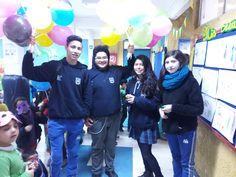 Celebración del #DíadelNiño en nuestro colegio #DaríoSalasHumanistaChillán, celebración organizada por el centro de estudiantes.