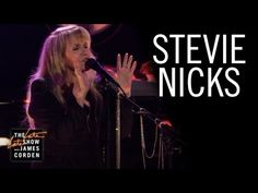 """Watch Stevie Nicks Perform """"Leather And Lace"""" On The Late Late Show 