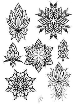 Best tattoo mandala dotwork drawings ideas - tattoo, jewerly, other accessories Mandala Tattoo Mann, Mandala Tattoo Design, Mandala Drawing, Tattoo Designs, Mandala Sketch, Mini Tattoos, Trendy Tattoos, Body Art Tattoos, Cool Tattoos