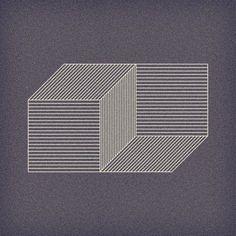 graphic 3d Isometric Drawing, Isometric Design, Simple Optical Illusions, Arte Linear, 2 Logo, Grafik Design, Op Art, Oeuvre D'art, Geometric Shapes
