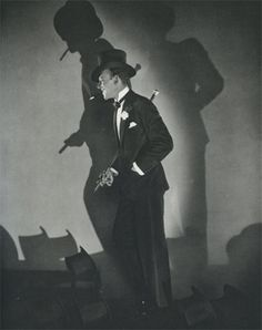 """Edward Steichen, Fred Astaire—Top Hat in """"Funny Face,"""" 1927  (Museum of Modern Art, NY)"""