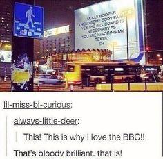 Read God Bless BBC from the story BBC Sherlock Memes by KendraNullings with 637 reads. Sherlock Bbc, Sherlock Fandom, Watson Sherlock, Jim Moriarty, Sherlock Quotes, Sherlock Holmes Funny, Molly Hooper Sherlock, Sherlock His Last Vow, Sherlock Humor