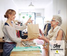 Show some local love to small business owners today!