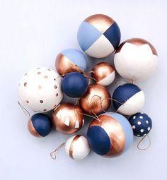 Décoration de Noël DIY : des boules de Noël à faire soi-même