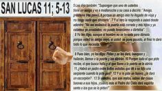 JESÚS PAN Y VIDA: SANTO EVANGELIO DE HOYSAN LUCAS 11