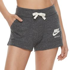 Women's Nike sportswear vintage sports elevate a favorite style with an extra comfortable feel. Nike Fleece, Fleece Shorts, Comfy Shorts, Knit Shorts, Sexy Shorts, Sport Shorts, Cute Lazy Outfits, Sporty Outfits, Nike Outfits