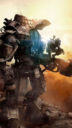 Titanfall (Xbox - Pre-Owned Cyberpunk, Wallaper Iphone, Science Fiction, Arte Robot, Hd Widescreen Wallpapers, Titans, Video Game Art, Amazing Art, Rpg