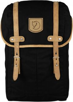 Rucksack No. 21 Small Black Backpack