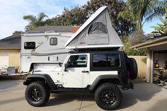 jeep wrangler rubicon 2 door camper - Google Search