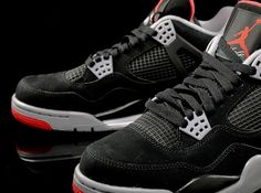 e93961b3872 The Air Jordan 4 Retro - Black - Varsity Red is another retro colorway set  to release on Black Friday.