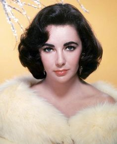 A History in Eyebrows: If you've got 'em, flaunt 'em! Elizabeth Taylor played up her already-ample brows with a generous amount of matte shadow. Edward Wilding, Hollywood Glamour, Old Hollywood, Classic Hollywood, Elizabeth Taylor Eyes, Celebrity Eyebrows, Eyebrow Trends, 50s Hairstyles, Vintage Hairstyles