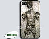Han Solo Carbonite for Apple iPhone 4 Case, iPhone 4s Case, iPhone 4 Hard Case, iPhone Case. $6.99, via Etsy.