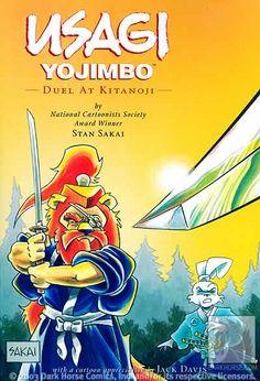 Usagi Yojimbo: Duel at Kitanoji by Stan Sakai Paperback) for sale online Usagi Yojimbo, Scary Stories To Tell, Image Comics, A Cartoon, Dark Horse, Tmnt, Textbook, The Darkest, Sketches