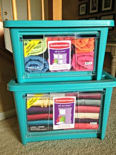 Great organizers for crafts, toys, or the garage!