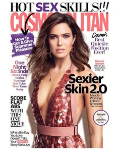 Featured Article: Mandy Moore for Cosmopolitan US March 2018 | Art8amby's Blog